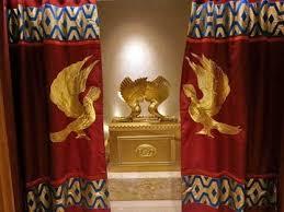 Voorhang met ark des verbonds